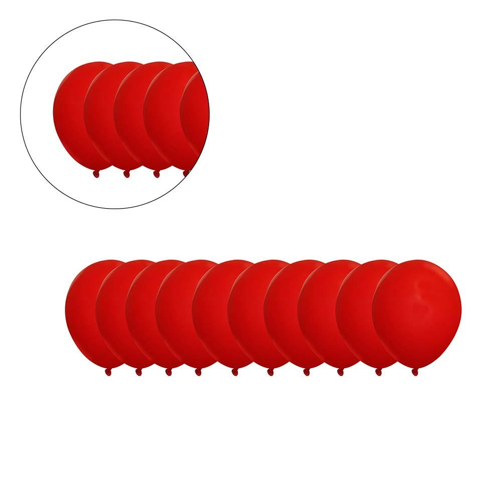 rojo, blanco 30pcs confeti Globos Globos grandes de l/átex para fiesta de cumplea/ños de boda de Halloween decoraciones de Navidad de 12 pulgadas