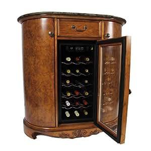 wine cooler wine bar cabinet granite top kitchen dining. Black Bedroom Furniture Sets. Home Design Ideas