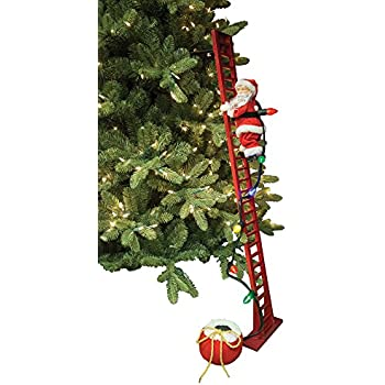 mr christmas super climbing santa holiday decor - Mr Christmas Outdoor Decorations