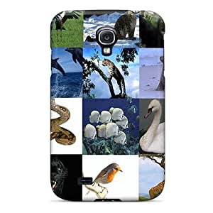 Durable Protector Case Cover With Animals That We Know Hot Design For Galaxy S4