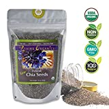 Cheap Divine Organics, 16 oz Dynamic Chia Seeds – Certified Organic – Smoothies, Desserts, Salads, Soups – High in Protein, Fiber, Antioxidants