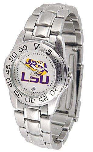 Steel Watch Sport State Tigers (LSU Tigers Sport Steel Women's Watch)