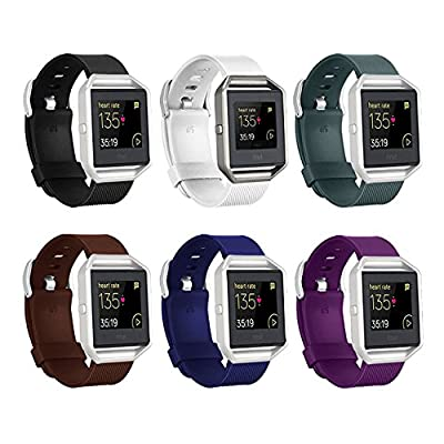 Fitbit Blaze Bands,Vancle Classic Accessories Durable Band, Sport Metal Clasp Replacement Wristband for Fit bit Blaze Smart Fitness Watch