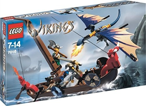 with LEGO Vikings design