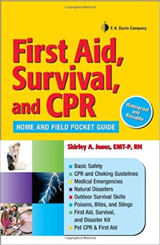 First Aid Survival And Cpr Home And Field Pocket Guide