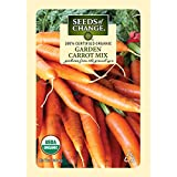 Seeds of Change Certified Organic Carrot, Garden - 700 milligrams, 400 Seeds Pack
