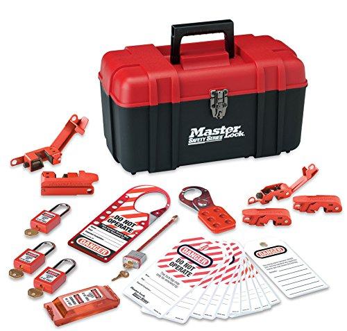 MASTERLOCK 1457E410KA Master Lock Personal Lockout Kit Electrical