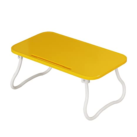 Folding table CHUNLAN Plastic Dormitory Lazy Table Multi-functional Desk Dining Table Home & Kitchen Color : BLACK Tables