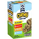 Quaker Chewy Granola Bars, 25% Less Sugar Variety Pack, 58 Bars