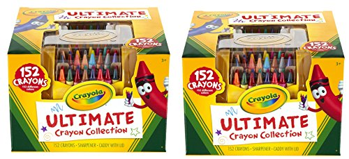 크레욜라 152색 세트 Crayola Ultimate Crayon Case, 152-Crayons