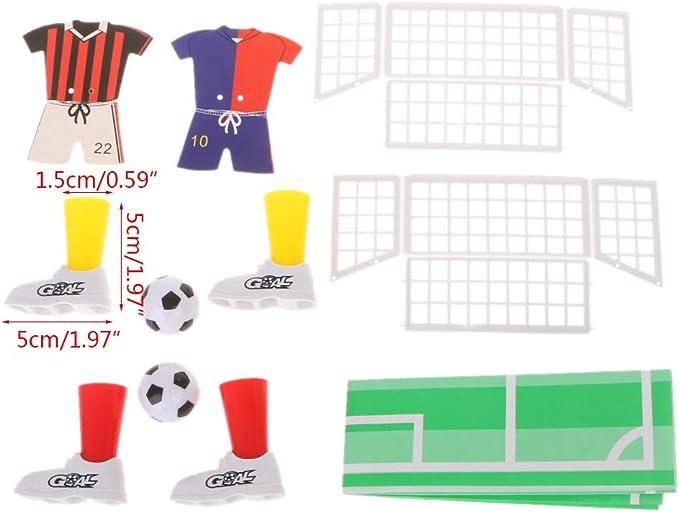 RG-FA New Jersey Fútbol de Mesa Futbolín Dedo Fútbol Partido Juguete Juego de Dedos Juegos Favores de Fiesta Juguete para niños: Amazon.es: Productos para mascotas