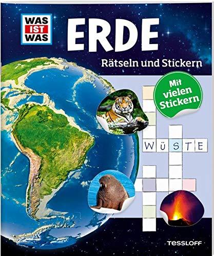 Rätseln Und Stickern  Erde  WAS IST WAS Rätselhefte
