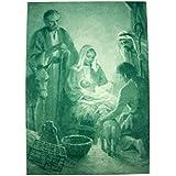 Oplatki Christmas Wafers 3 White 1 Pink with Nativity Envelope