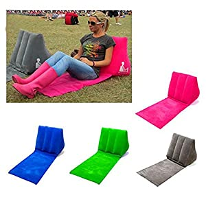 Captivating Inflatable Beach Lounge Chair Mat Air Pillow Cushion Portable Relax Couch  For Camping Beach Good Ideas