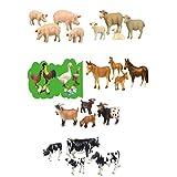 Farm Animals Figurine 24 Pieces High Quality Relastic Toys