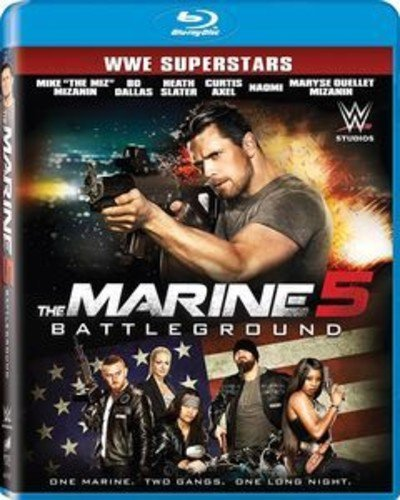 Blu-ray : The Marine 5: Battleground (Widescreen, Dolby, AC-3, Dubbed, )