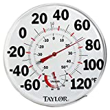 Taylor Precision Products Humidiguide Dial Thermometer (12-Inch)