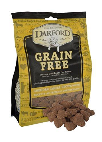 Darford - Grain Free Cheddar Cheese Mini Heart Recipe Dog Treats, 12Oz Pouch