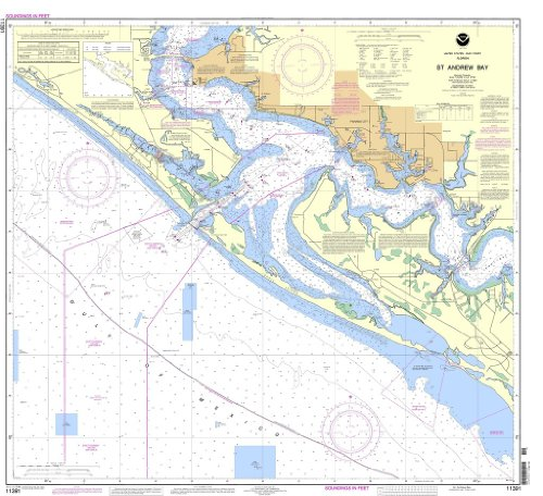 NOAA Chart 11391: St. Andrew (Andrews Bay)