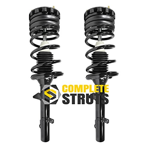 Rear Quick Complete Struts & Coil Spring Assemblies Compatible with 1994-2007 Ford Taurus (Pair)