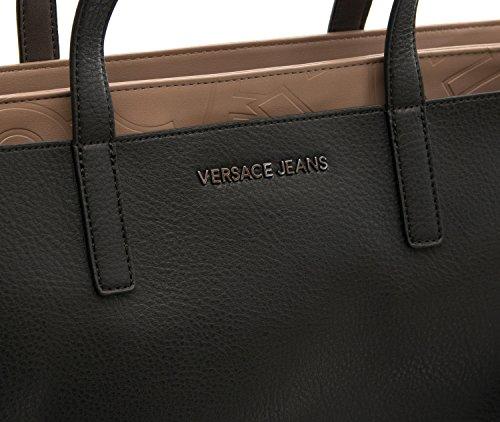 Dis Black s e Jeans Donna Borsa Versace Embossed 1 Grana Specchio Rwx1FfaqT