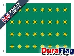 duraflag® Feniano 32estrellas bandera de calidad profesional (puerta y Cambiadas)