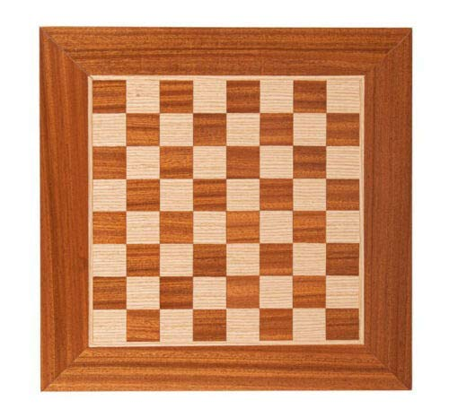 Mahogany & Oak Wood Handcrafted Chess Board in Greece – 1.33″ Squares