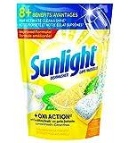 Sunlight Lemon Fresh Oxi-Action Dishwasher, 55 Uses, 55 Count