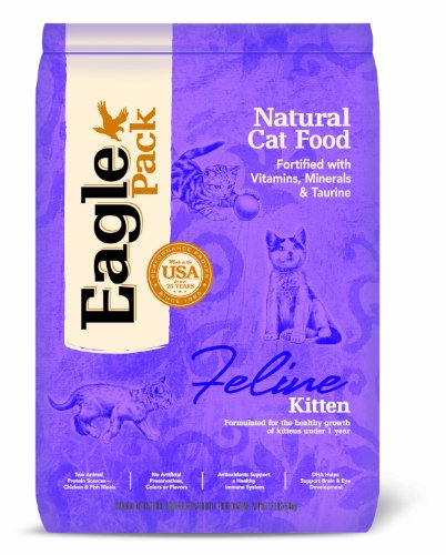 Eagle Pack Natural Pet Food, Kitten Formula, 12-Pound Bag, My Pet Supplies