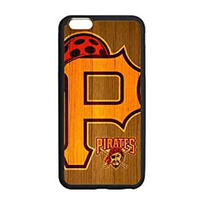 Forever Collectibles MLB Pittsburgh Pirates Dual Hybrid Custom Case for HTC One M8