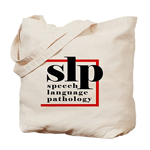 CafePress SLP - Speech Language Patholo Tote Bag - Standard Multi-color by CafePress
