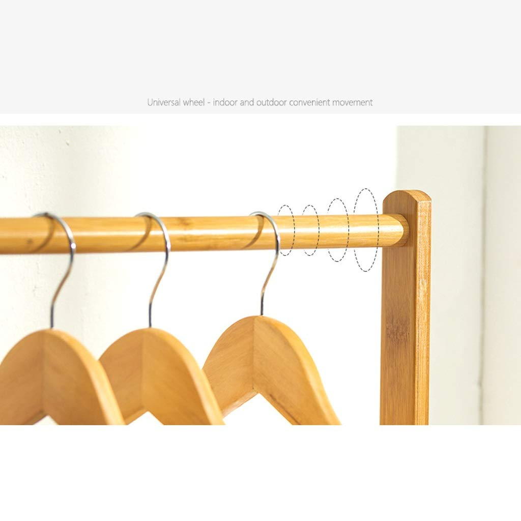 Coat rack Perchero de bambú Perchero Perchero Perchero Soporte para ropa Soporte para sombreros y abrigos de pie en el piso Parrilla Estante Estante ...