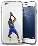 Epic Cases iPhone 6 Plus Case, for Apple iPhone, Ultra Slim Transparent Dominate the Basketball Court Series - KD Durantula, Clear Sports Case (iPhone 6 Plus)