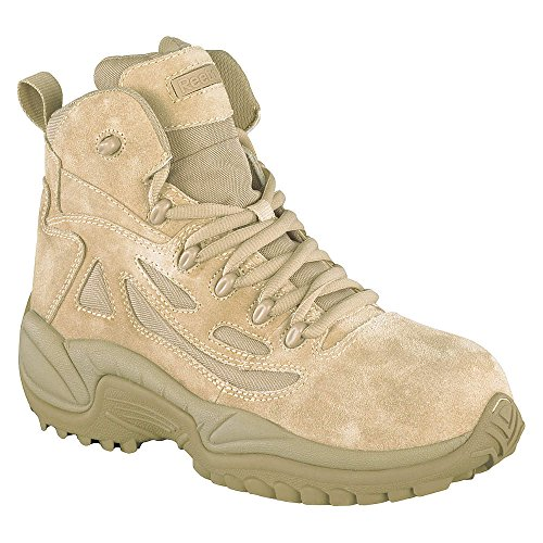 Reebok - RB8694-14M - 6H Men's Military Boots Composite Toe Type Suede Leather/Ballistic Nylon Upper Material Desert T