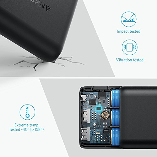 Anker PowerCore Speed 20000, 20000mAh Qualcomm Quick Charge 3.0 & PowerIQ Portable Charger, with Quick Charge Recharging, Power Bank for Samsung, iPhone, iPad and More by Anker (Image #4)