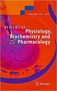 Reviews Of Physiology, Biochemistry And Pharmacology 158 por Various epub
