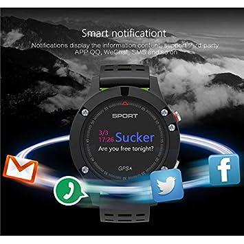 KDSFJIKUYB Smartwatch I-F5 Reloj Deportivo Profesional GPS Reloj ...