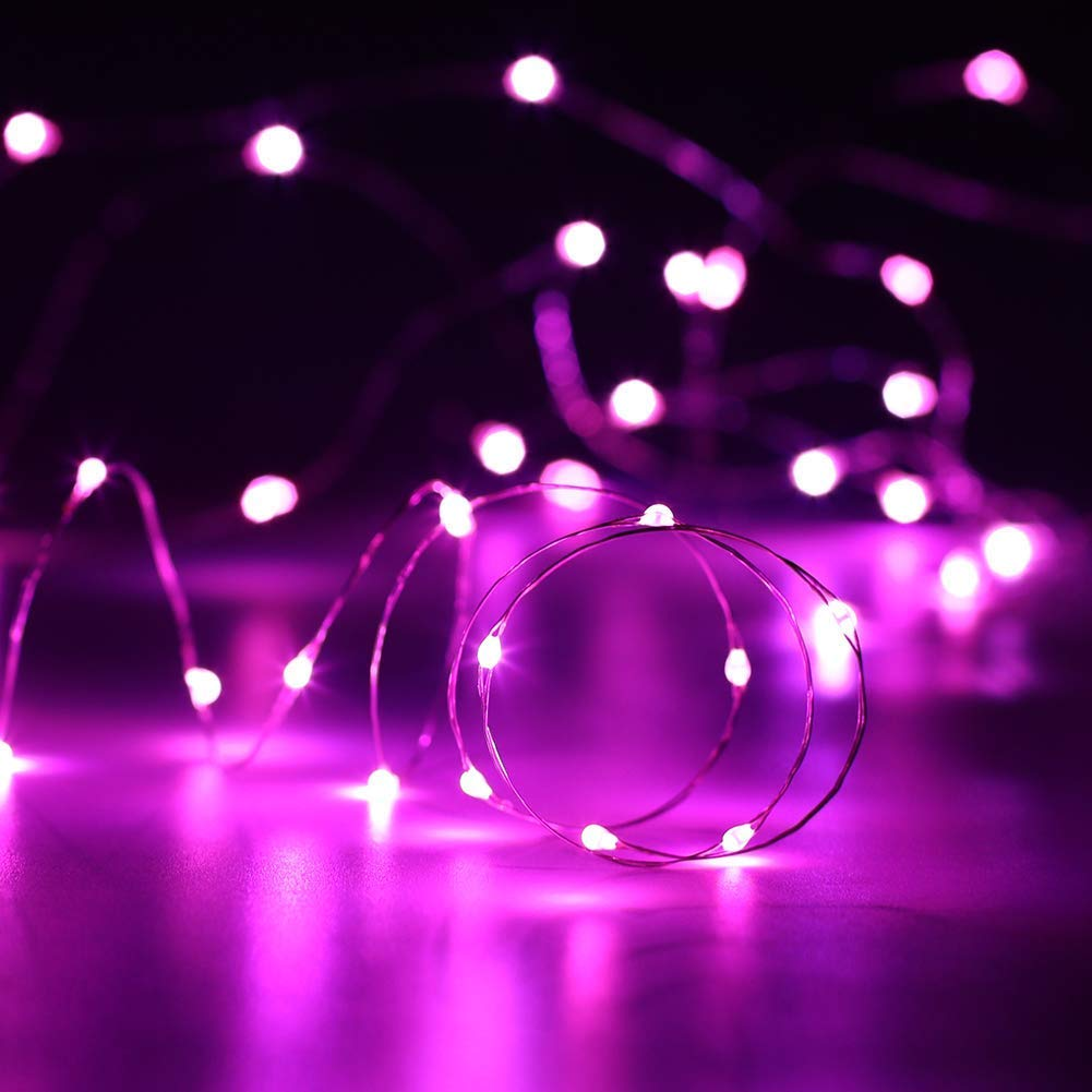 8 Pack Battery Operated 2M Copper Wire Perfect for Home Decor,Romantic Indoor Decorations,Starry Mood Light Wine Bottle Fairy LED String Lights with Cork Lights/&Glory 20 Micro LEDs Red