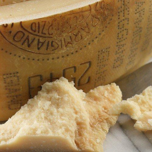 igourmet Parmigiano Reggiano 24 Month Top Grade - Pound Cut (15.5 ounce)