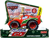 Disney / Pixar CARS Movie Christmas Shake n' Go Toy Figure Lightning McQueen