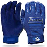 Franklin Sports CFX Pro Full Color Chrome Batting Gloves - Royal - Adult Small