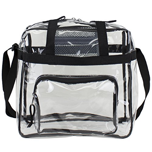 EST498000BJBLK - Clear Stadium Approved Tote