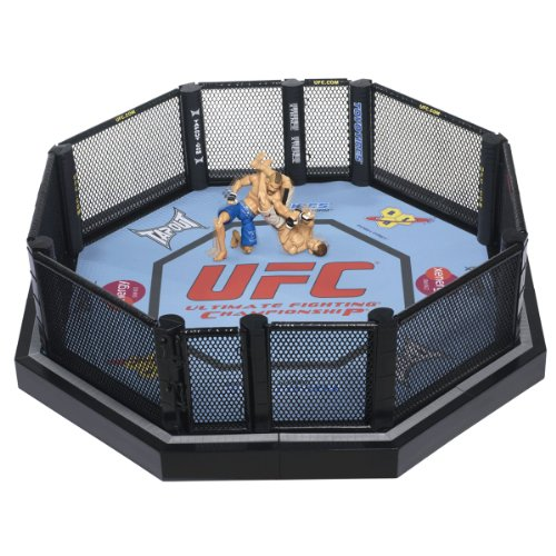 UFC Ultimate Fighting Jakks Pacific DELUXE Ring Official Scale Octagon by UFC