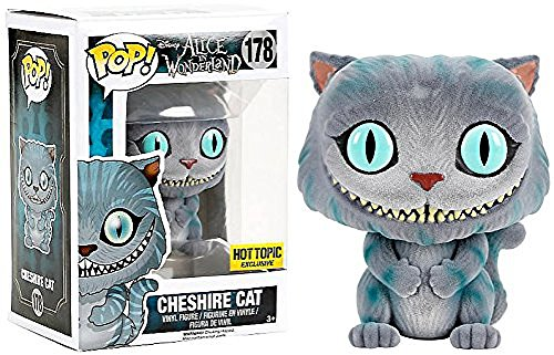 Funko – 178 – Pop – Disney – Alice in Wonderland – Cheshire Cat Flocked
