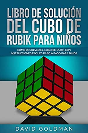 Libro de Solución del Cubo de Rubik para Niños: Cómo