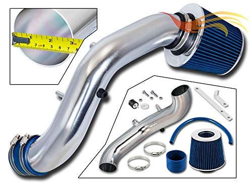 RSG Racing Short Ram Air Intake Kit BLUE Compatible For 02-06 Acura RSX Type-S ONLY 2.0L / 02-05 Honda Civic Si ONLY 2.0L