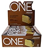 One Protein Bar, Peanut Butter Chocolate Cake, 20g protein 1g sugar, 12-pack