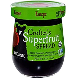CROFTERS Organic Europe Superfruit Spread - 11 OZ - CS x6