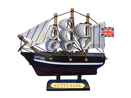 - Wooden Cutty Sark Tall Model Clipper Ship 4