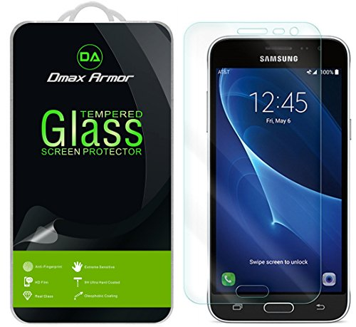 Cheap Screen Protectors [2-Pack] Samsung Galaxy Express Prime Screen Protector, Dmax Armor [Tempered Glass] 0.3mm..